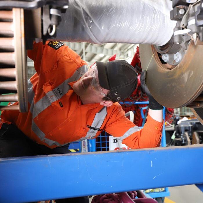 Axle bearing maintenance optimisation