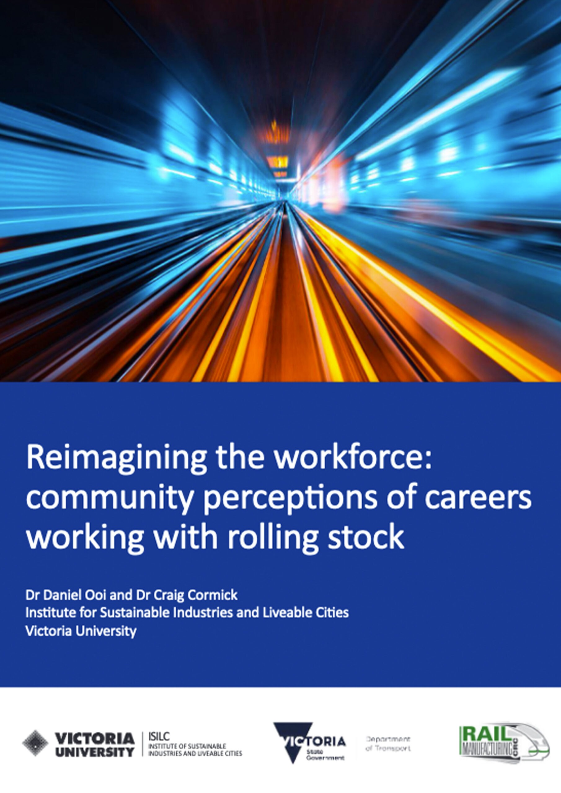 Community perceptions of careers working with rolling stock